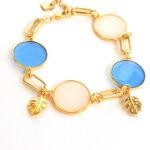 bracelet ivoar blue links